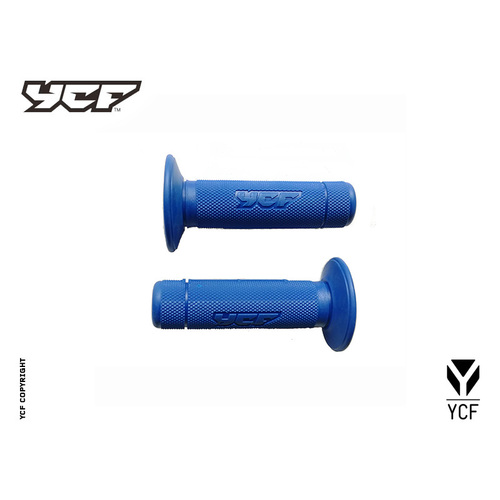 YCF SET OF GRIPS BLUE 2020