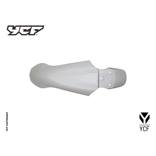 YCF FRONT FENDER WITH HOLES WH